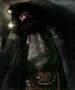 Hagrid is adorable <3 <3