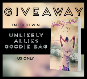 Unlikely Allies Giveaway Graphic